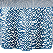 Buy John Lewis Nasca Wipe Clean Round Tablecloth Online at johnlewis.com