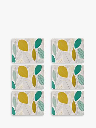 John Lewis & Partners Leaves Placemat, Set of 6