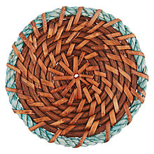 Buy John Lewis Rattan Rope Coaster Online at johnlewis.com