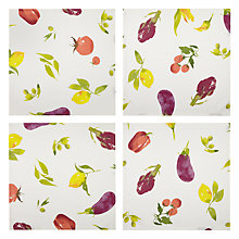 Buy John Lewis Villa Toscana Veg Garden Napkins, Set of 4 Online at johnlewis.com