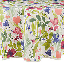 Buy John Lewis Country Wipe Clean Round Tablecloth Online at johnlewis.com