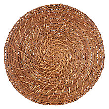 Buy John Lewis Rattan Placemat Online at johnlewis.com