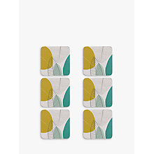 Buy John Lewis Leaves Coaster, Set of 6 Online at johnlewis.com