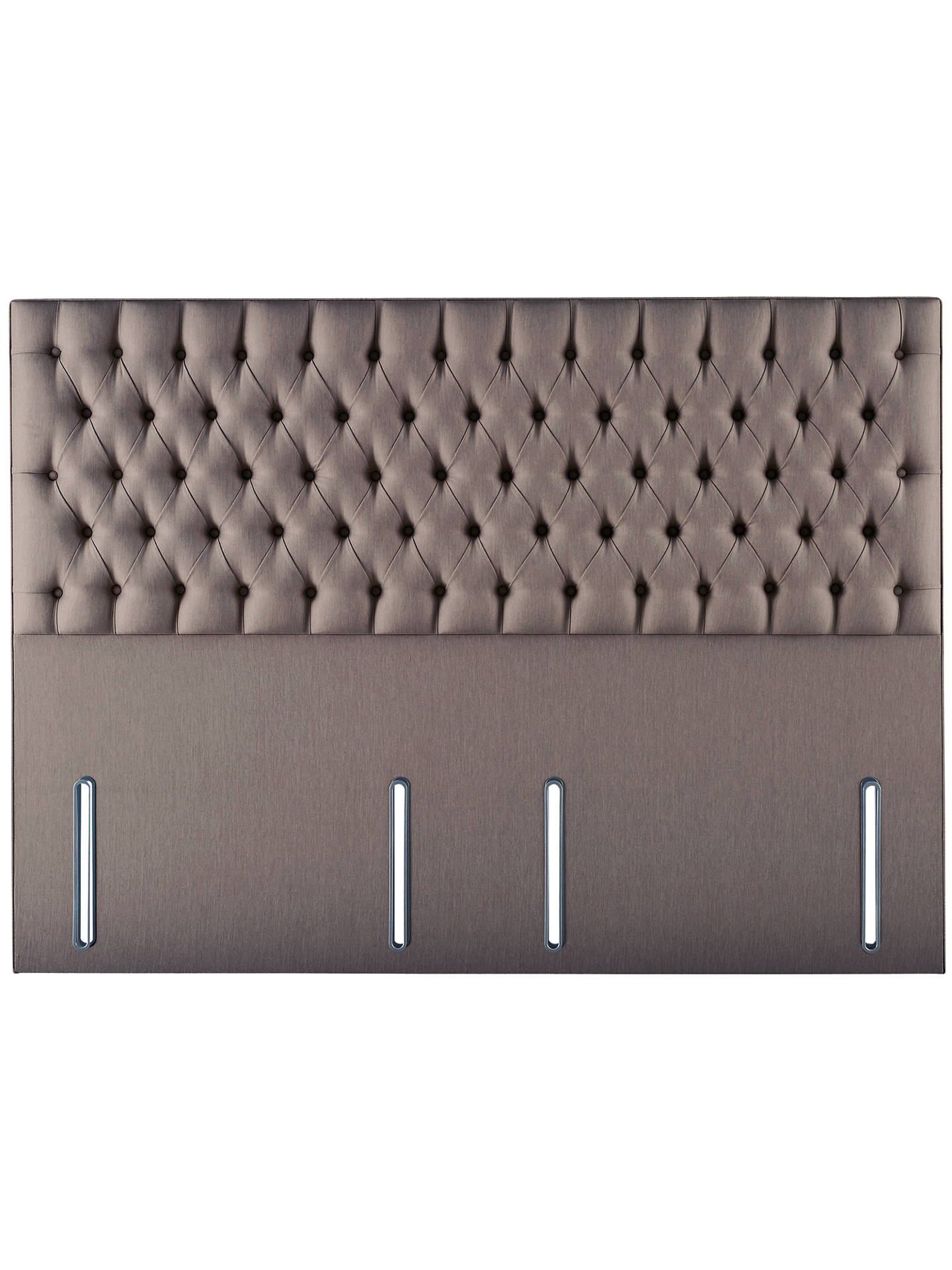 new styles 419ab d8dd1 Hypnos Eleanor Full Depth Headboard, King Size, Imperio Grey