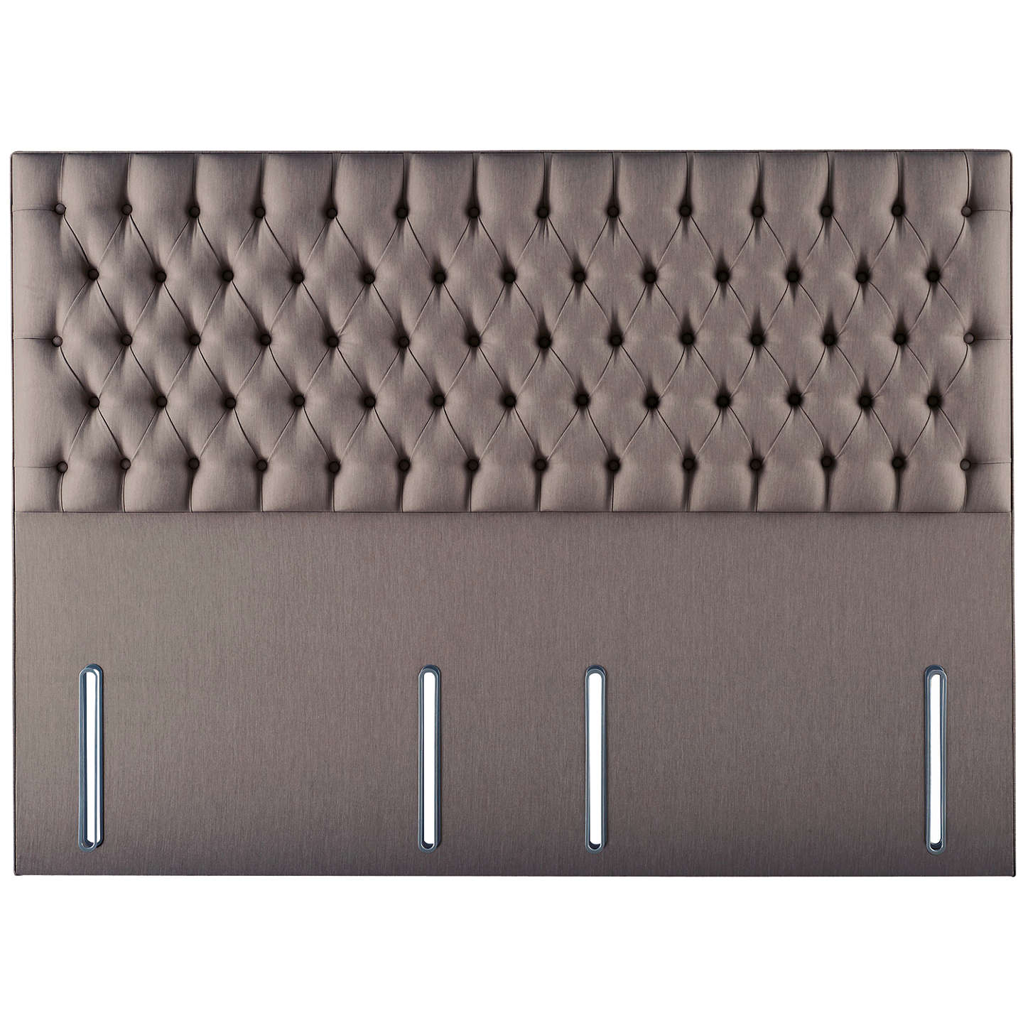 Hypnos Eleanor Full Depth Headboard Small Double Imperio Grey Online At Johnlewis