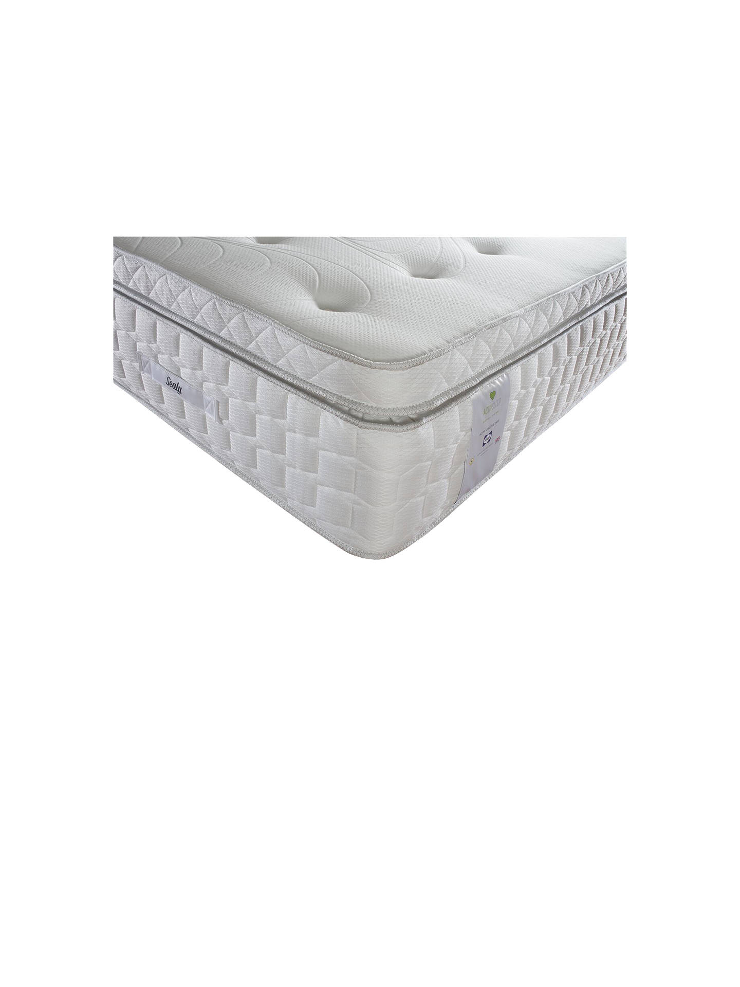 Buy Sealy Activsleep Geltex 2800 Box Top Pocket Spring, Medium, Super King Size Online at johnlewis.com