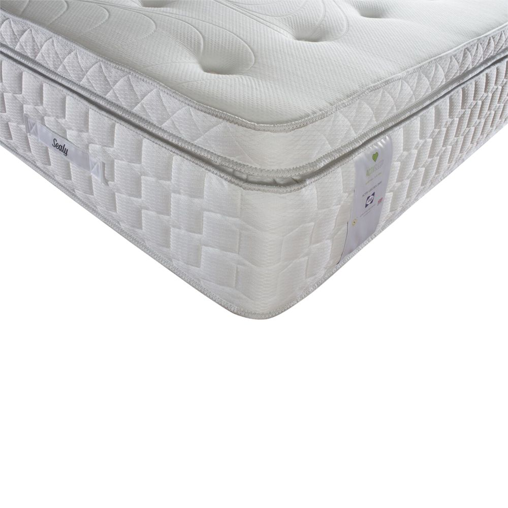 Sealy Sealy Activsleep Geltex 2800 Box Top Pocket Spring, Medium, Super King Size
