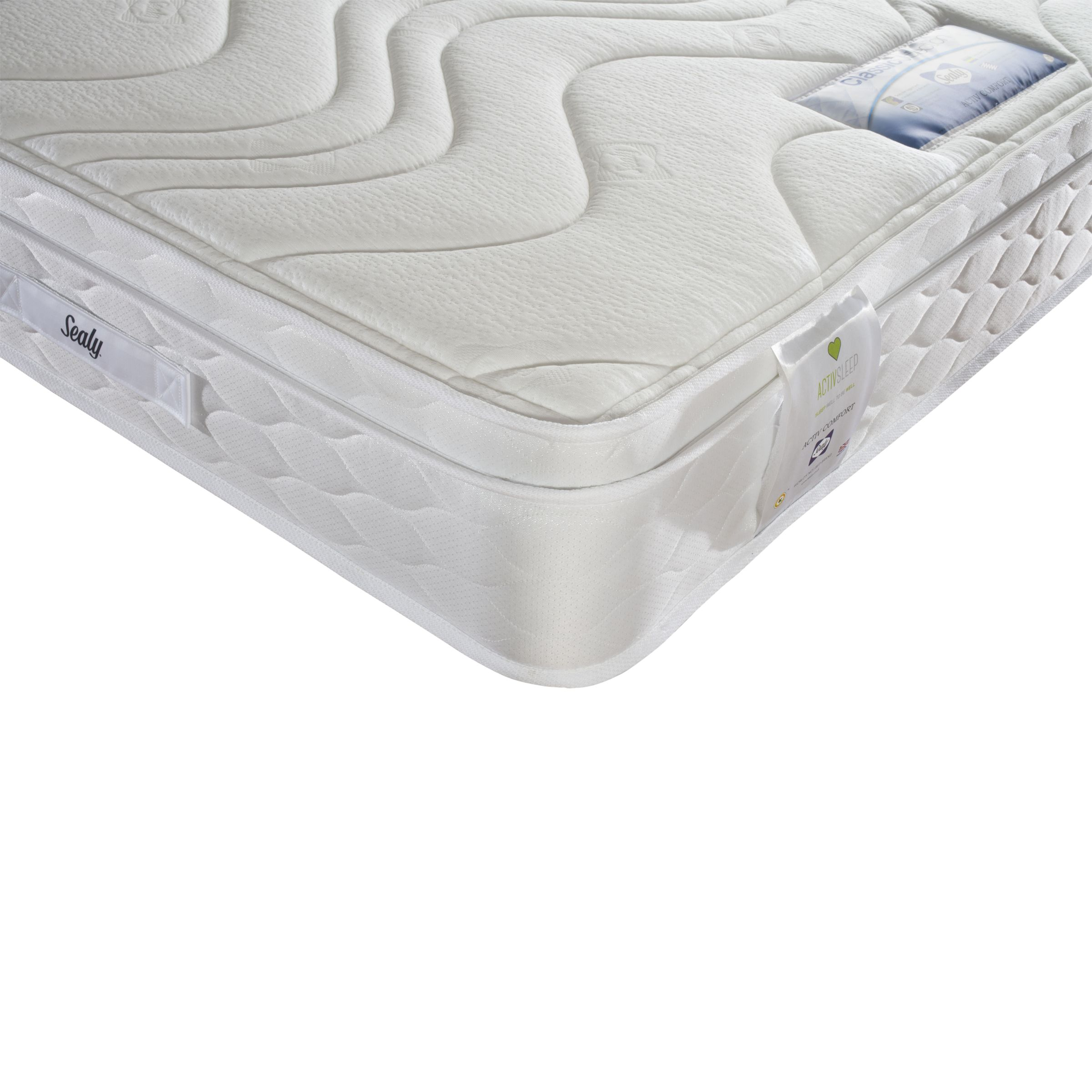 Sealy Sealy Activsleep Comfort Mattress, Medium, King Size