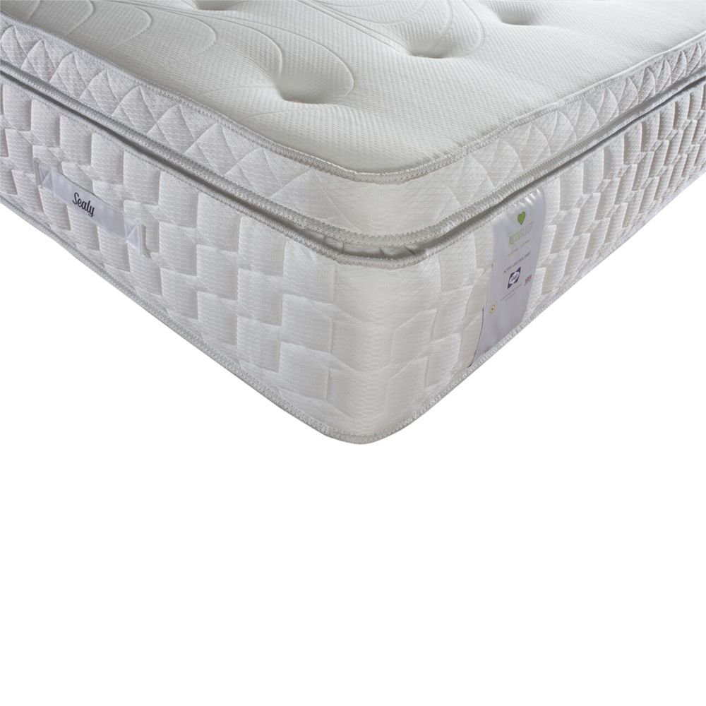 Sealy Sealy Activsleep Geltex 2800 Box Top Pocket Spring Mattress, Medium, Double