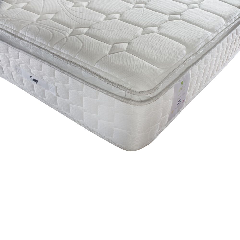 Sealy Sealy Activsleep Geltex 2200 Pocket Spring Mattress, Medium, King Size