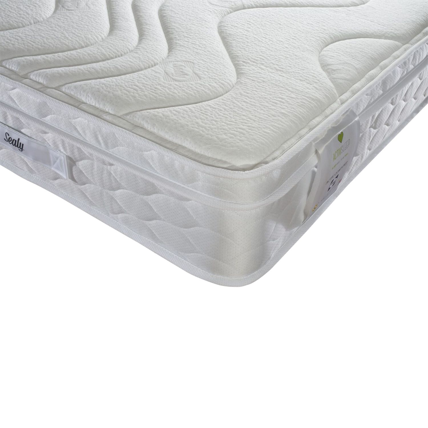 Sealy Sealy Activsleep Comfort Mattress, Medium, Single