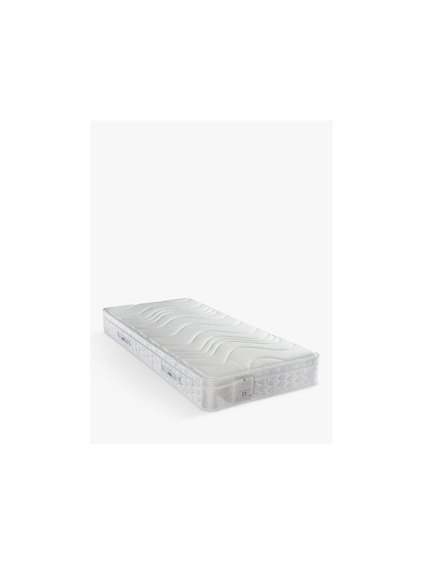 BuySealy Activsleep Comfort Mattress, Medium, Single Online at johnlewis.com