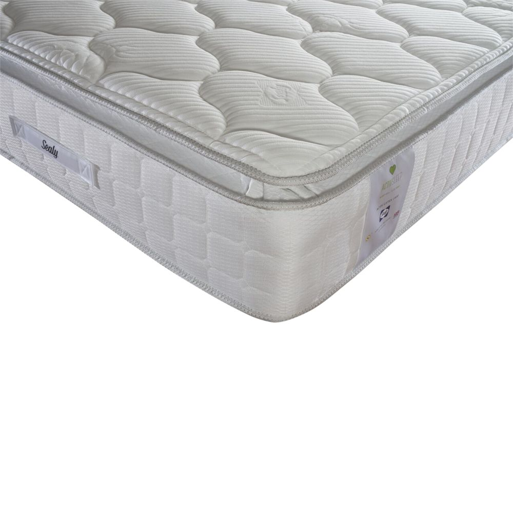 Sealy Sealy Activsleep Latex 1400 Pocket Spring Mattress, Medium, Super King Size