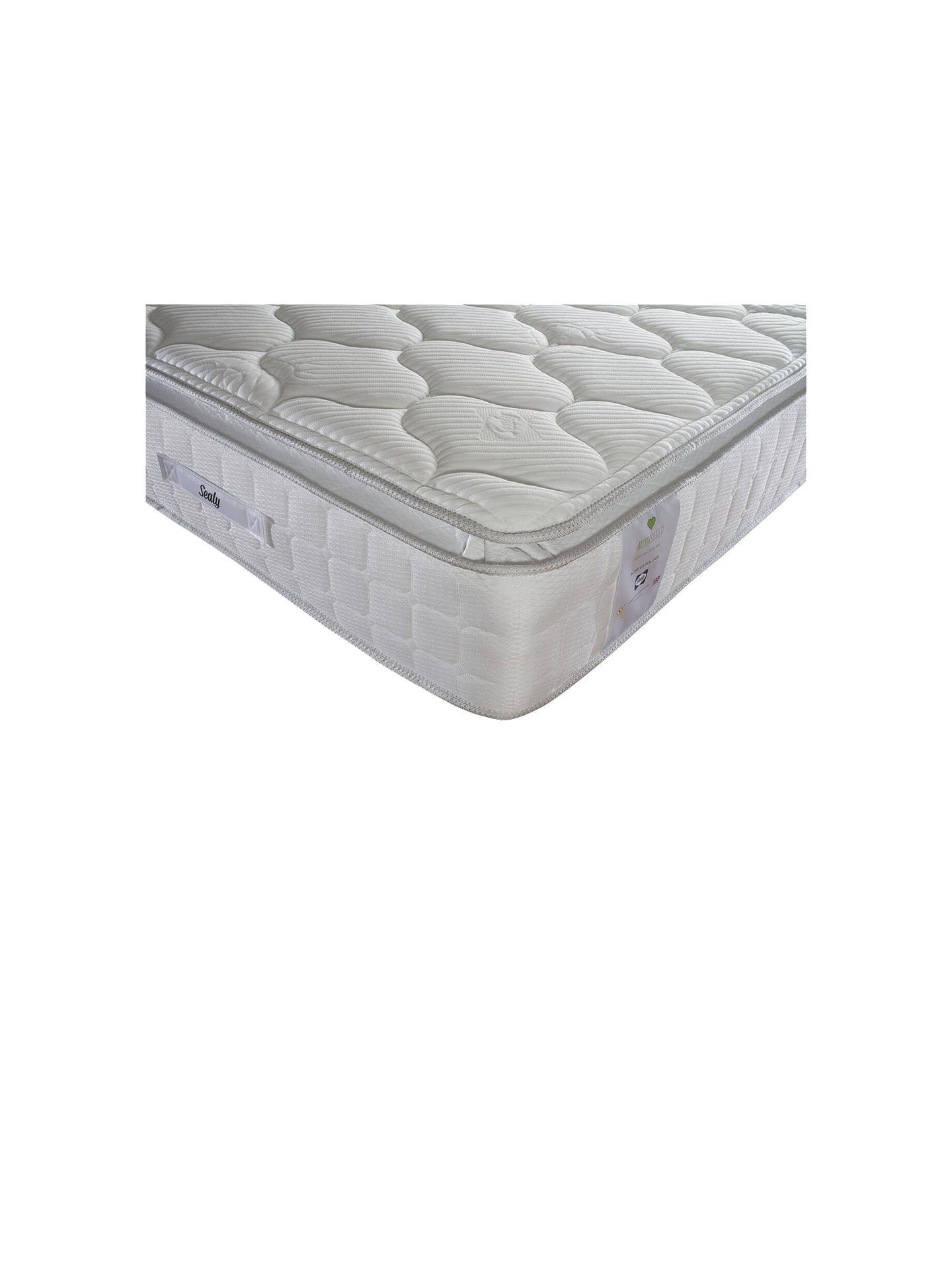 Buy Sealy Activsleep Latex 1400 Pocket Spring Mattress, Medium, Double Online at johnlewis.com