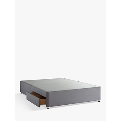 Sealy Posturepedic 2 Drawer Divan Storage Bed, King Size