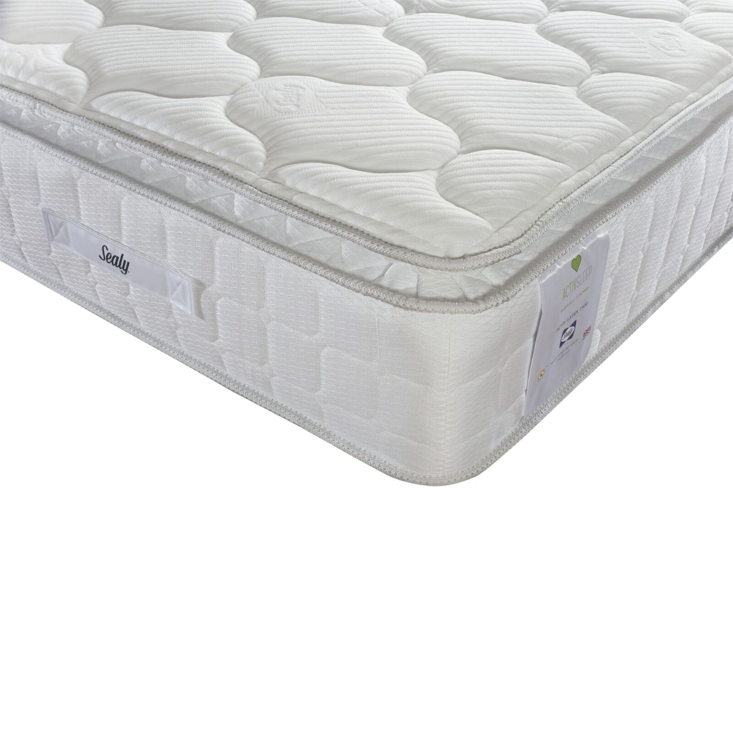 Sealy Sealy Activsleep Latex 1400 Pocket Spring Mattress, Medium, Single
