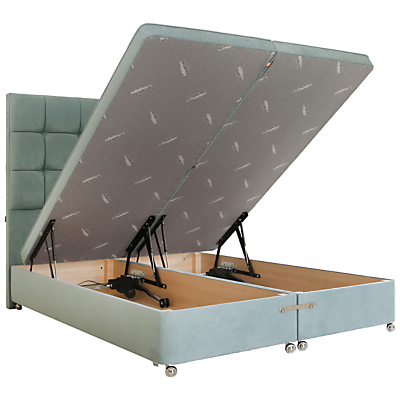 Tempur Electric Ottoman Divan Storage Bed, Super King Size