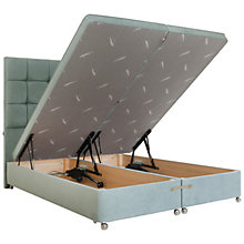 Buy Tempur Electric Ottoman Divan Storage Bed, Super King Size Online at johnlewis.com