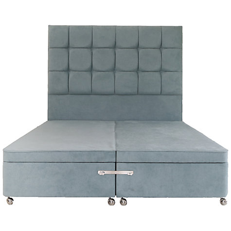 Buy tempur electric ottoman divan storage bed super king for King size divan bed with storage