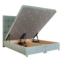 Buy Tempur Electric Ottoman Divan Storage Bed, Double Online at johnlewis.com