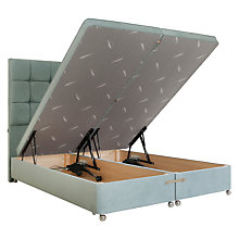 Buy Tempur Electric Ottoman Divan Storage Bed, King Size Online at johnlewis.com