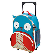 Buy Skip Hop Zoo Owl Luggage Bag Online at johnlewis.com
