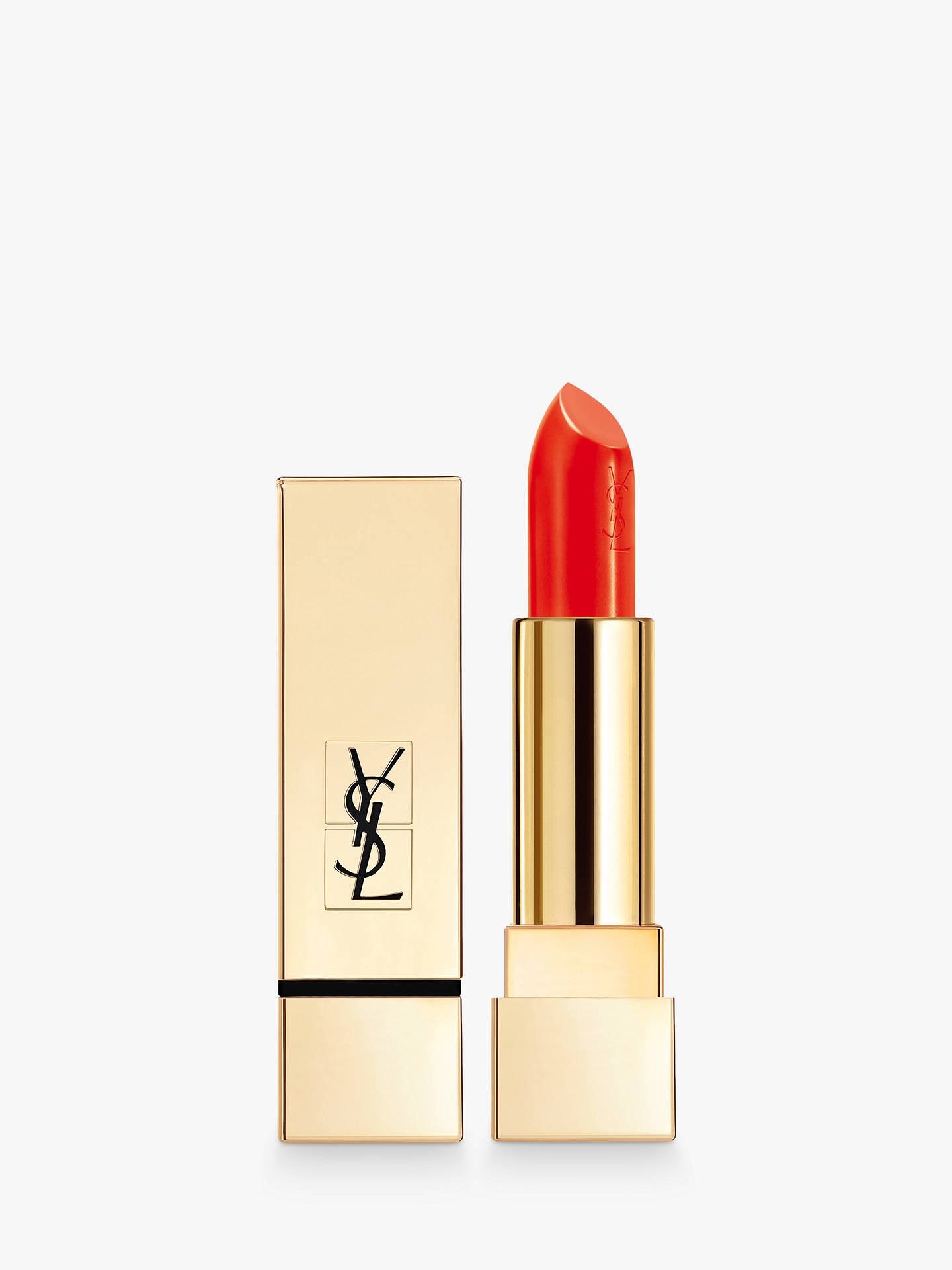Buy Yves Saint Laurent Rouge Pur Couture Lipstick, 74 Orange Electro Online at johnlewis.com