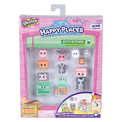 Shopkins Happy Places Dreamy Kitty Kitchen Decorator Pack