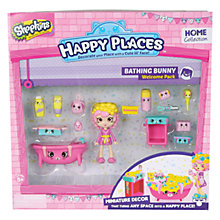 Buy Shopkins Happy Places Bathing Bunny Welcome Pack Online at johnlewis.com