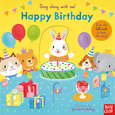 Sing Along With Me! Happy Birthday Children's Book
