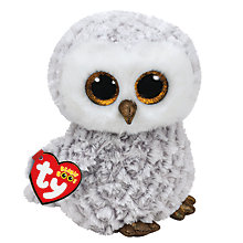 Buy Ty Owlette Boo Buddy Beanie Soft Toy Online at johnlewis.com