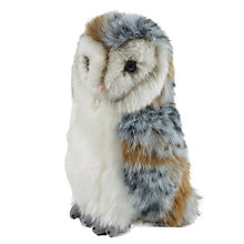 Buy Living Nature Barn Owl Soft Toy, Medium Online at johnlewis.com