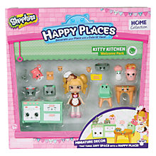 Buy Shopkins Happy Places Kitty Kitchen Welcome Pack Online at johnlewis.com