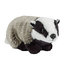 Buy Living Nature Badger Soft Toy, Large Online at johnlewis.com