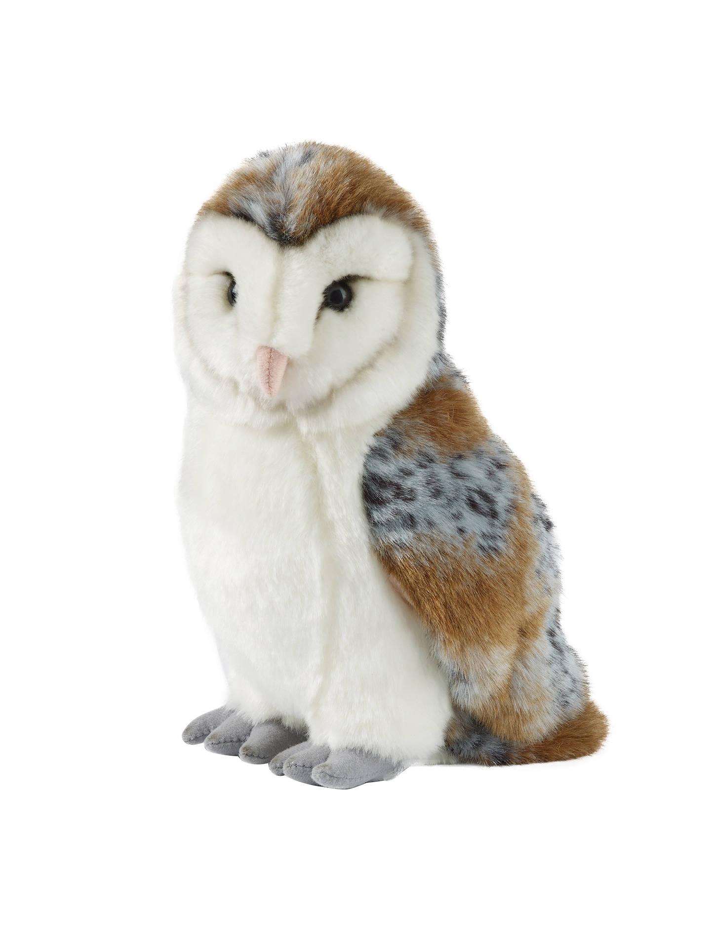 Living Nature Barn Owl Soft Toy, Large at John Lewis ...