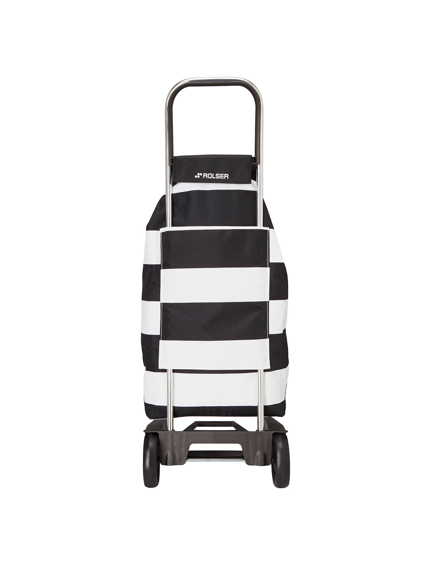 Buy Rolser Jet Lido Trolley, Black Online at johnlewis.com