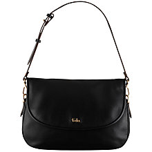 Buy Tula Alpine Originals Medium Flap Shoulder Bag, Black Online at johnlewis.com