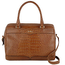 Buy Tula Everglade Leather Barrel Grab Bag Online at johnlewis.com