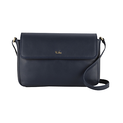 Tula Nappa Originals Leather Medium Flapover Cross Body Bag
