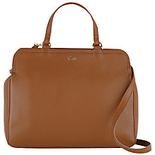 Buy Tula Nappa Originals Leather Multiway Grab Bag, Tan Online at johnlewis.com