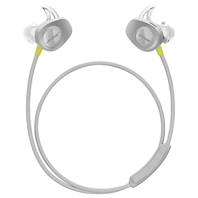 Image of Bose® SoundSport™ Sweat & Weather-Resistant Wireless In-Ear Headphones With Bluetooth/NFC, 3-Button In-Line Remote and Carry Case