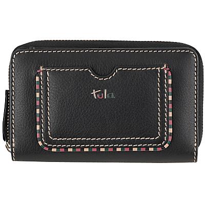 Tula Mallory Leather Medium Zip Wallet