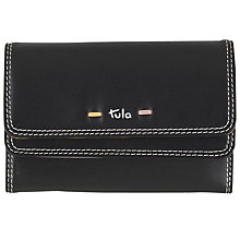 Buy Tula Violet Leather Medium Flapover Wallet Online at johnlewis.com