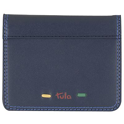 Tula Violet Leather Card Holder