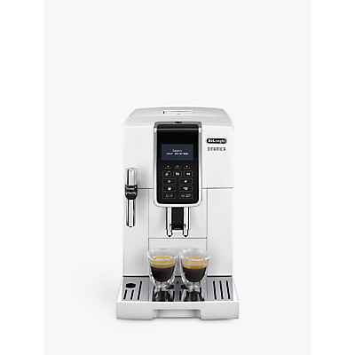 De'Longhi ECAM350.35.W Dinamica Bean-to-Cup Coffee Machine, White