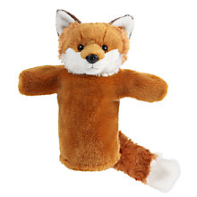 Buy Living Nature Fox Hand Puppet Soft Toy Online at johnlewis.com