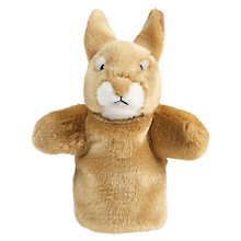 Buy Living Nature Rabbit Hand Puppet Soft Toy Online at johnlewis.com