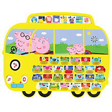 Buy Peppa Pig Alphaphonic Campervan Board Online at johnlewis.com