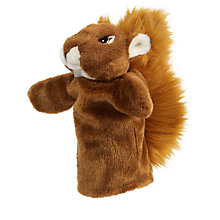 Buy Living Nature Red Squirrel Hand Puppet Soft Toy Online at johnlewis.com