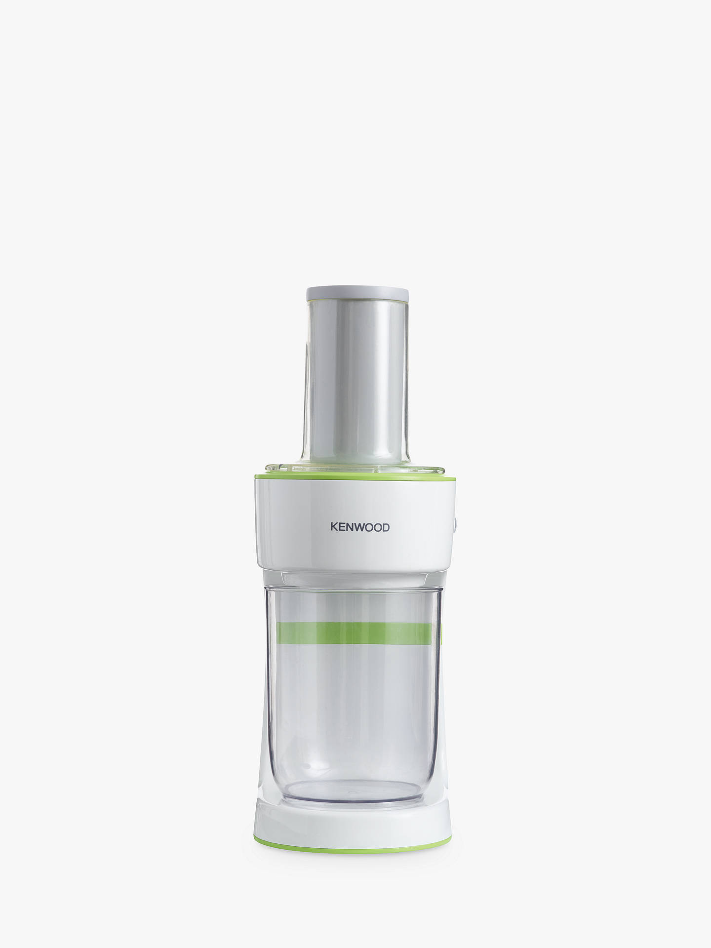 BuyKenwood FGP200WG Electric Spiralizer, White/Green Online at johnlewis.com